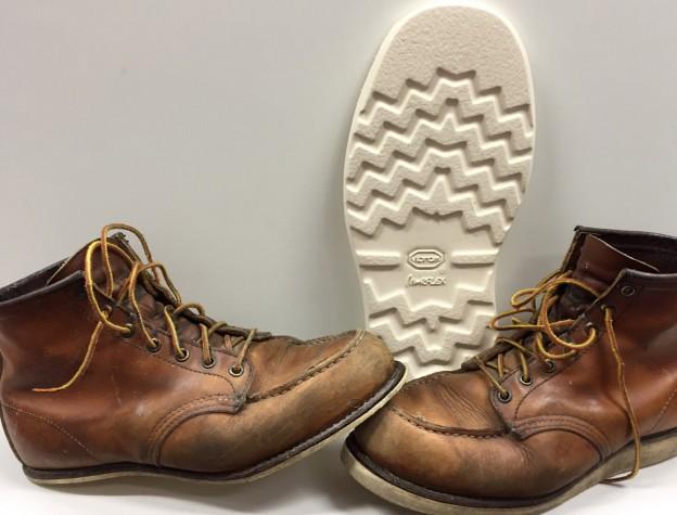 Redwing schoenreparatie