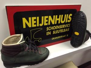 Nieuwe schoenzolen